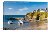 Port Isaac harbour, Cornwall, Canvas Print