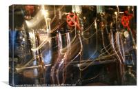 Steam Power, Canvas Print