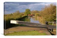 Napton Locks, Oxford Canal, Warwickshire