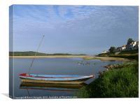 River Loire, near Saumur, France, Canvas Print