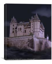 Castle of Darkness, Canvas Print