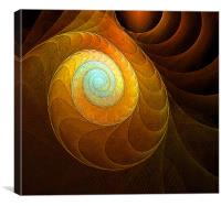 Golden Spiral, Canvas Print