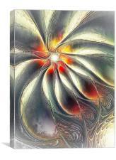 Silver Shiver, Canvas Print