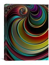 Twister, Canvas Print