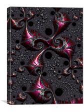 Curious Ornamentation, Canvas Print