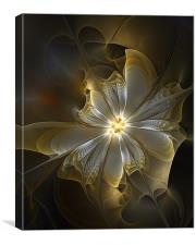 Silver and Gold, Canvas Print