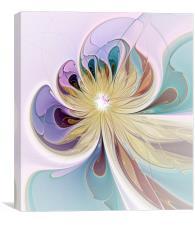 Coloured Glass, Canvas Print