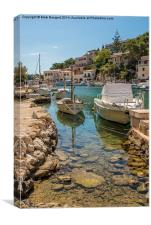 Harbour, Cala Figuera, Canvas Print