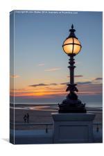 Margate Sunset, Canvas Print