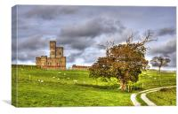 Majestic Tawstock Tower and Castle, Canvas Print