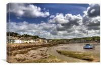 Instow North Devon, Canvas Print