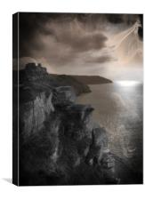 Spirits of Valley of The Rocks, Canvas Print