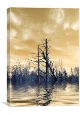 Death of The Trees 2, Canvas Print