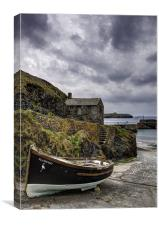 Mullion Cove and Harbour, Canvas Print