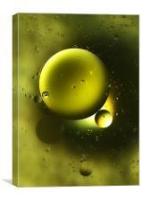Green Galaxy, Canvas Print