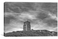 St Werbargh Church Wembury Devon, Canvas Print