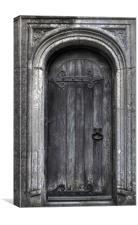 The Door to..., Canvas Print