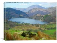 Welsh Lakes, Canvas Print