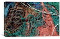 Trawler Nets, Canvas Print