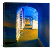 Hidden Archways, Canvas Print