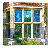 Stained Glass Windows, Canvas Print