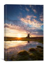Herringfleet Windpump, Canvas Print