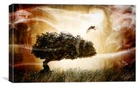 The magic tree, Canvas Print