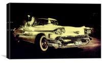 Cadillac 62S convertible, Canvas Print