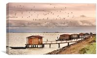 Fishermen, Canvas Print