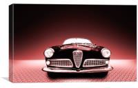 Alfa Romeo Giulietta sprint coupè, Canvas Print
