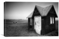 Ferryman's Hut, Canvas Print