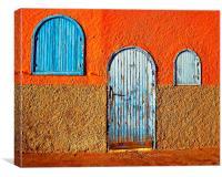 Moroccon Street Scene, Canvas Print