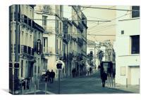 Montpellier Street, Canvas Print