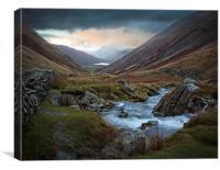 Kirkstone Pass,Lake District, Canvas Print