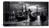 Wet Venice, Canvas Print