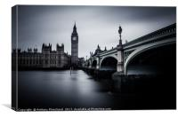 The Ghost of Westminster, Canvas Print
