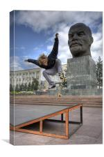 Skating with Lenin, Canvas Print