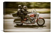 Harley Davidson, Canvas Print