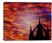 Celestial Tillington Sunrise, Canvas Print