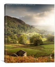Towards Rydal Water, Canvas Print