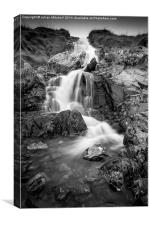 Kirkstone Waterfall, Canvas Print