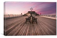 Cromer Pier, Canvas Print
