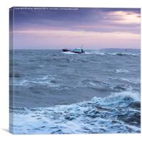 Lifeboat, Canvas Print