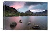 Buttermere Sunrise, Canvas Print