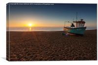 Aldeburgh Sunrise, Canvas Print