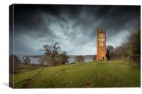 Freston Tower, Canvas Print