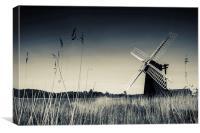 Herringfleet Mill, Canvas Print