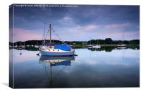 Woodbridge Sunset, Canvas Print