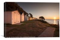 Felixstowe Sunrise, Canvas Print