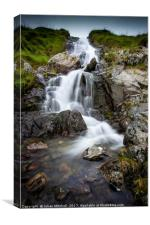 Cumbrian Waterfall, Canvas Print